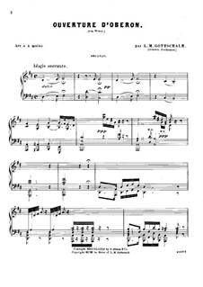 Увертюра: Для фортепиано в четыре руки by Карл Мария фон Вебер