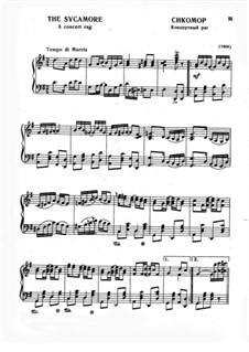 Платан: Для фортепиано by Скотт Джоплин