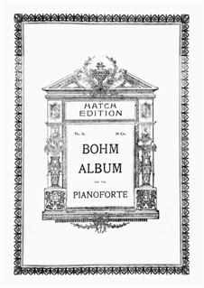 Salon-Kompositionen, Op.327: No.26 Gentle Breeze. Tone Piece by Карл Бём