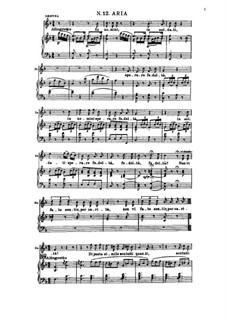 In uomini, in soldati: For soprano and piano by Вольфганг Амадей Моцарт