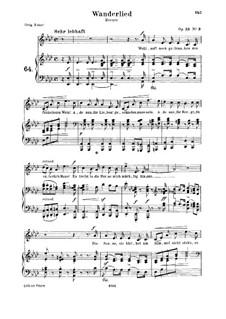 No.3 Песенка: Для среднего голоса и фортепиано by Роберт Шуман