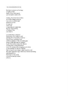 The Dancer Prances (voice & piano): The Dancer Prances (voice & piano) by Joan Yakkey