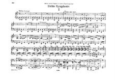 Симфония No.3 ре минор, WAB 103: Переложение для фортепиано в четыре руки by Антон Брукнер
