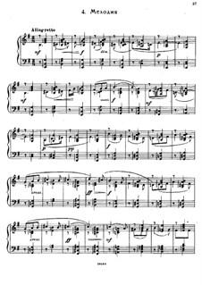 Семь салонных пьес, Op.10: No.4 Мелодия by Сергей Рахманинов