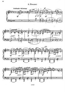 Семь салонных пьес, Op.10: No.6 Романс by Сергей Рахманинов