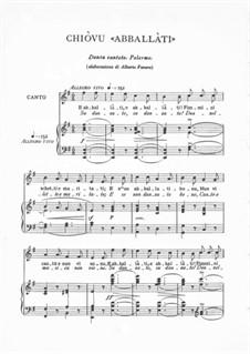 Abballati: Abballati by folklore