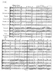 Симфония No.2 си-бемоль мажор, D.125: Часть III by Франц Шуберт