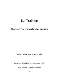 Ear Training: Harmonic Overtone Series by Michele Schottenbauer