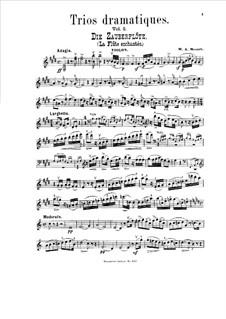 Trios Dramatiques sur les opéras célèbres: Book II. Parts by Вольфганг Амадей Моцарт, Карл Мария фон Вебер, Джоаккино Россини