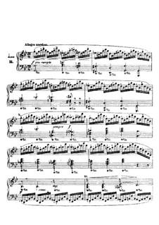 Двадцать четыре этюда для фортепиано, Op.70: No.14 by Игнац Мошелес