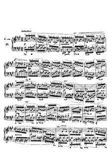 Двадцать четыре этюда для фортепиано, Op.70: No.17 by Игнац Мошелес