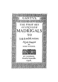 Английские мадригалы I: Весь сборник by Джон Уильбай