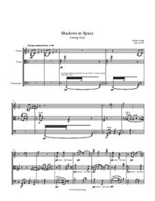 Shadows in Space (string trio): Shadows in Space (string trio) by Jordan Grigg