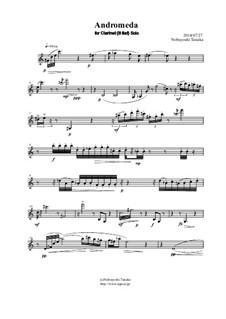Andromeda for Clarinet Solo: Andromeda for Clarinet Solo by Nobuyoshi Tanaka