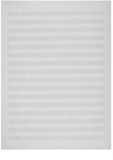 Японские поэтические строки для высокого голоса и струнного квартета: Партитура by Эрнст Леви