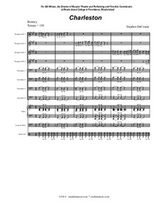 Charleston (for Jazz Band): Charleston (for Jazz Band) by Stephen DeCesare