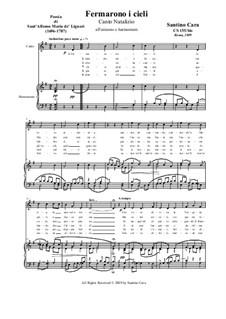 Fermarono i cieli: For unison chant and harmonium, CS155/bis by Santino Cara