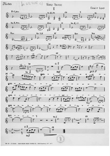 Сюита для оркестра No.3: Партии by Эрнст Леви