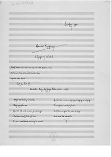 Симфония No.12 'Камерная': Партитура by Эрнст Леви
