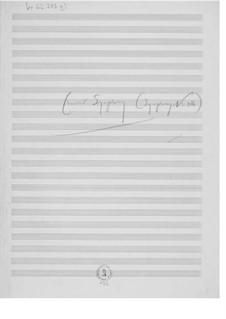 Симфония No.12 'Камерная': Наброски композитора by Эрнст Леви