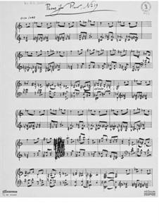 Пьеса для фортепиано No.19: Пьеса для фортепиано No.19 by Эрнст Леви
