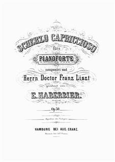 Scherzo Capriccioso, Op.50: Scherzo Capriccioso by Эрнст Габербир