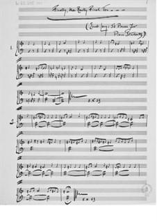 Пятьдесят пьес для начинающих пианистов: Тетрадь IV (манускрипт) by Эрнст Леви