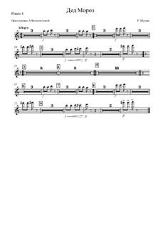 No.12 Дед Мороз: Оркестровка – партия первой флейты by Роберт Шуман