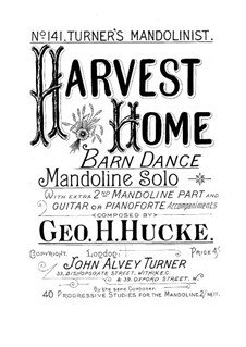Harvest Home, Op.70: Harvest Home by George H. Hucke