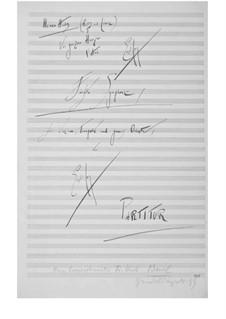 Симфония No.5 для скрипки, трубы и оркестра: Партитура by Эрнст Леви