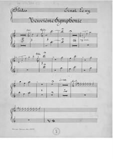 Симфония No.9 для смешанного хора и оркестра: Оркестровые партии by Эрнст Леви