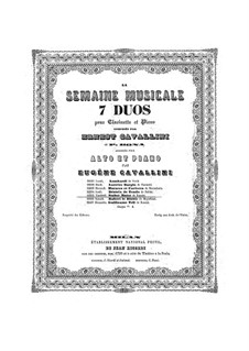 La Semaine Musicale. Vendredi. Stabat Mater de Rossini: La Semaine Musicale. Vendredi. Stabat Mater de Rossini by Паскуале Бона