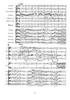 Концерт для фортепиано с оркестром No.1 ре минор, Op.15: Часть II by Иоганнес Брамс