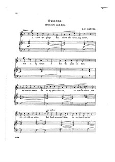 Сусанна, HWV 66: Beneath the Cypress' Gloomy Shade by Георг Фридрих Гендель