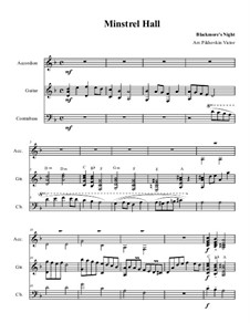 English folk song - Minstrel Hall: English folk song - Minstrel Hall by folklore