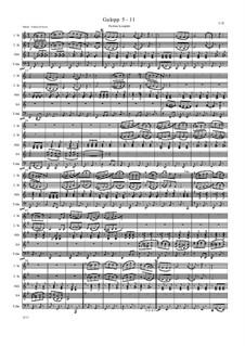 Galopp 5 - 11: Galopp 5 - 11 by Friedrich Gross