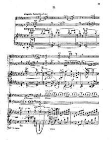 Фортепианное трио фа минор, Op.14: Часть II by Георгий Катуар
