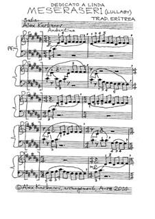 Meseraseri (Lullaby): Meseraseri (Lullaby) by folklore