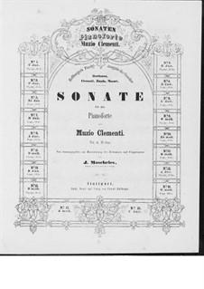 Четыре сонаты, Op.12: Соната No.1 by Муцио Клементи