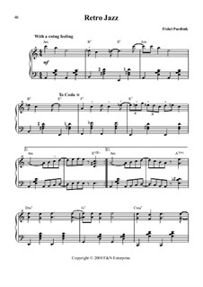Retro Jazz: Retro Jazz by Fishel Pustilnik