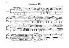 Симфония No.4 ре минор, Op.120: Версия для фортепиано в 4 руки by Роберт Шуман