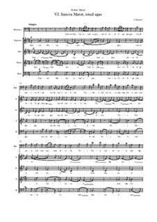 Stabat Mater: No.6 Sancta Mater, istud agas by Jehan Vergnaye