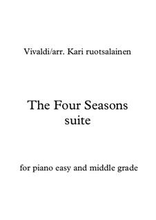 Времена года: Для фортепиано by Антонио Вивальди