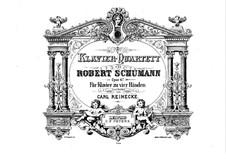 Фортепианный квартет ми-бемоль мажор, Op.47: Версия для фортепиано в 4 руки by Роберт Шуман
