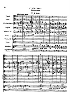Der vierjährige Posten (The Four-Year Post), D.190: No.5 Aria by Франц Шуберт