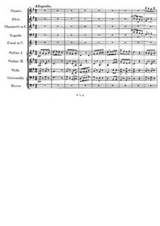 Симфония No.3 ре мажор, D.200: Часть II by Франц Шуберт