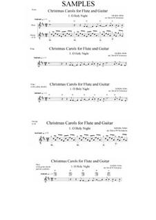 Святая ночь: Для флейты и гитары by Адольф Адам