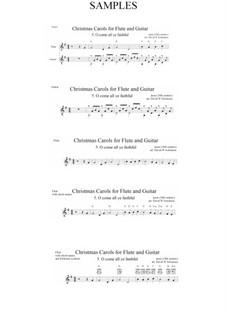 Придите к Младенцу: Для флейты и гитары by Джон Фрэнсис Уэйд