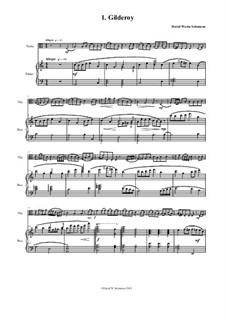Complete set: Для альта и фортепиано by folklore, Дэвид Соломонс