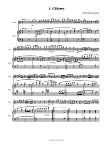 Complete set: Для скрипки и фортепиано by folklore, Дэвид Соломонс